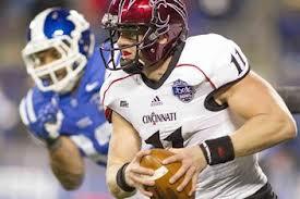 Cincinnati Bearcat quarterback Brandon Kay