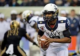Navy quarterback Keenan Reynolds