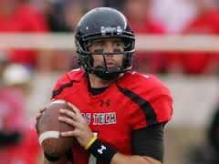 Texas Tech quarterback Seth Doege