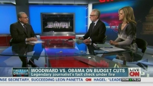 "Bob Woodward reveals thuggish behavior by Obama Administration ""Senior Official""."