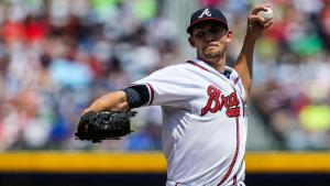 Former Vanderbilt Commodore Mike Minor struck out ten batters over 7 1/3 innings and hit a two run homer in a 6-0 Atlanta victory over the New York Mets.