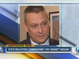 Tony Bennett resigns as Florida Education Commissioner