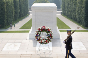 tomb of the unknown - memorial day
